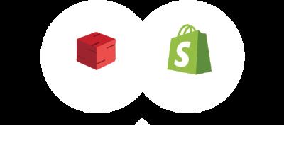 Shopify banner illustration